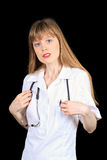Serious doctor Stock Photos