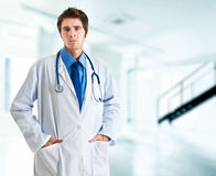 Serious doctor Royalty Free Stock Image
