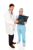 Serious Doctors with MRi Stock Photography