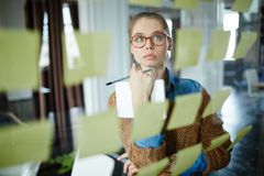 Serious employee Royalty Free Stock Image