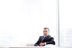 Serious employer Royalty Free Stock Photo