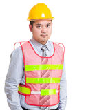 Serious engineer Royalty Free Stock Images
