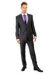 Serious fashion business man Stock Photos