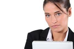 Serious female executive Royalty Free Stock Image