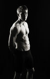 Serious fitness man Royalty Free Stock Photography