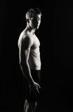 Serious fitness man Stock Image