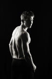 Serious fitness man Royalty Free Stock Images