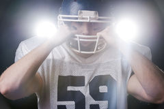 Serious game is beginning. Royalty Free Stock Photo