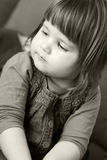 Serious girl Royalty Free Stock Images