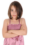 Serious girl. Royalty Free Stock Photography