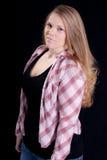 Serious Girl In Her Twenties Stock Photo