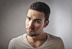 Serious guy Royalty Free Stock Images