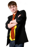 Serious handsome man Stock Images