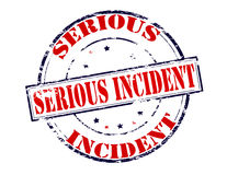Serious incident Royalty Free Stock Photo
