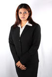 Serious Indian Businesswoman Stock Image