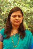 Serious Indian woman Stock Photo