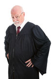 Serious Judge Royalty Free Stock Photography