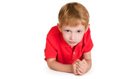 Serious kid Stock Photography