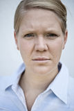 Serious look Royalty Free Stock Photo