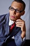 Serious look man Stock Photography
