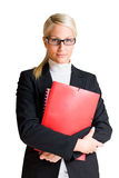 Serious looking business woman. Stock Image