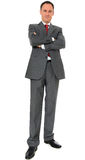 Serious-looking businessman Stock Images