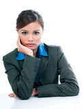 Serious looking Businesswoman Stock Images