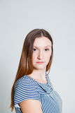 Serious looking woman Royalty Free Stock Photo