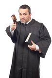 Serious male judge Royalty Free Stock Photography