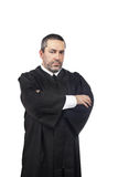 Serious male judge royalty free stock images