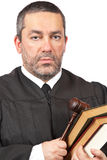 Serious male judge Stock Photos