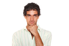 Serious male portrait Royalty Free Stock Photography