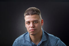 Serious man Stock Photography