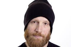 Serious man face Stock Photo