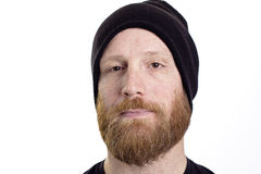 Serious man face Stock Photography