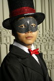 Serious masked man Stock Photography
