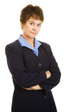 Serious Mature Businesswoman Royalty Free Stock Photos