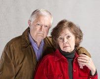 Serious Mature Couple Stock Photos