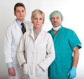 Serious medical staff Royalty Free Stock Image
