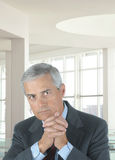 Serious Middle aged Businessman Stock Images