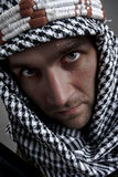 Serious middle eastern man looking to you. Portrait of serious middle eastern man looking to you Stock Photography
