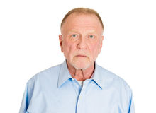 Serious older man Royalty Free Stock Images