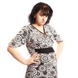 Serious pregnant woman Stock Photos