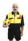 Serious Referee Stock Images