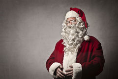 Serious Santa Claus Stock Image
