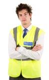 Serious security guard Stock Image