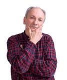 Serious senior man Stock Image