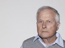 Serious Senior Man Stock Photos