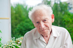 Serious Senior Man Royalty Free Stock Image