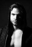 Serious sensual man Royalty Free Stock Photography